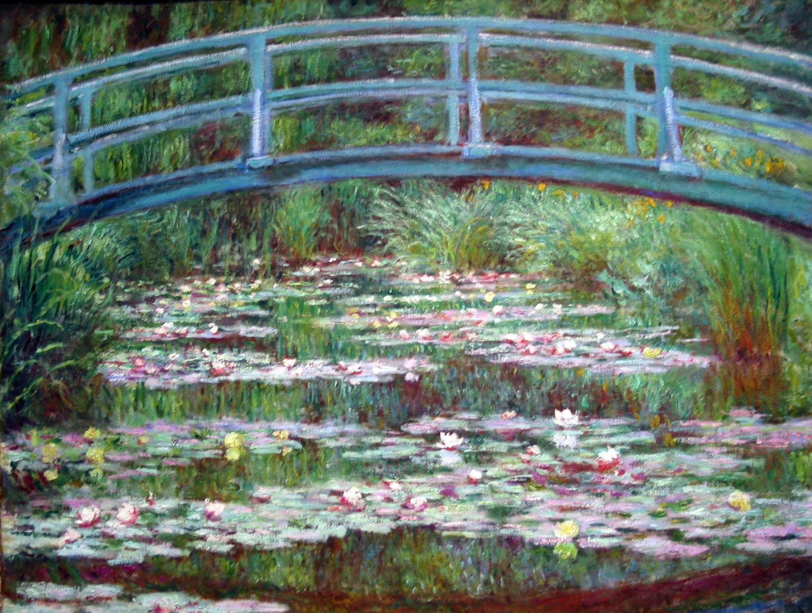 Monet Water Lilies Wallpaper 315